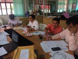 ร่วมปรึกษาการจัดทำหลักสูตรกับผู้เชี่ยวชาญจากสาธารณรัฐประชาชนจีน